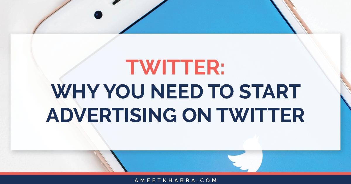 Advertising on Twitter