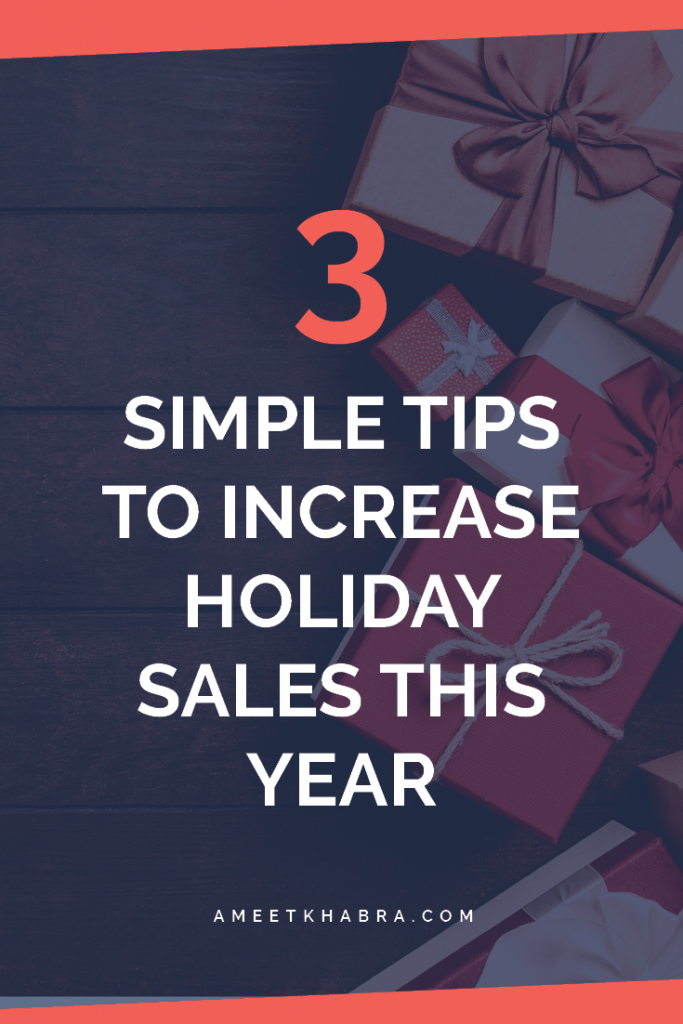 Digital Marketing Holiday Sales