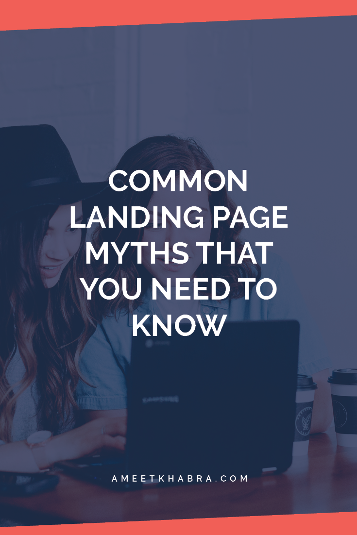 landing page myths