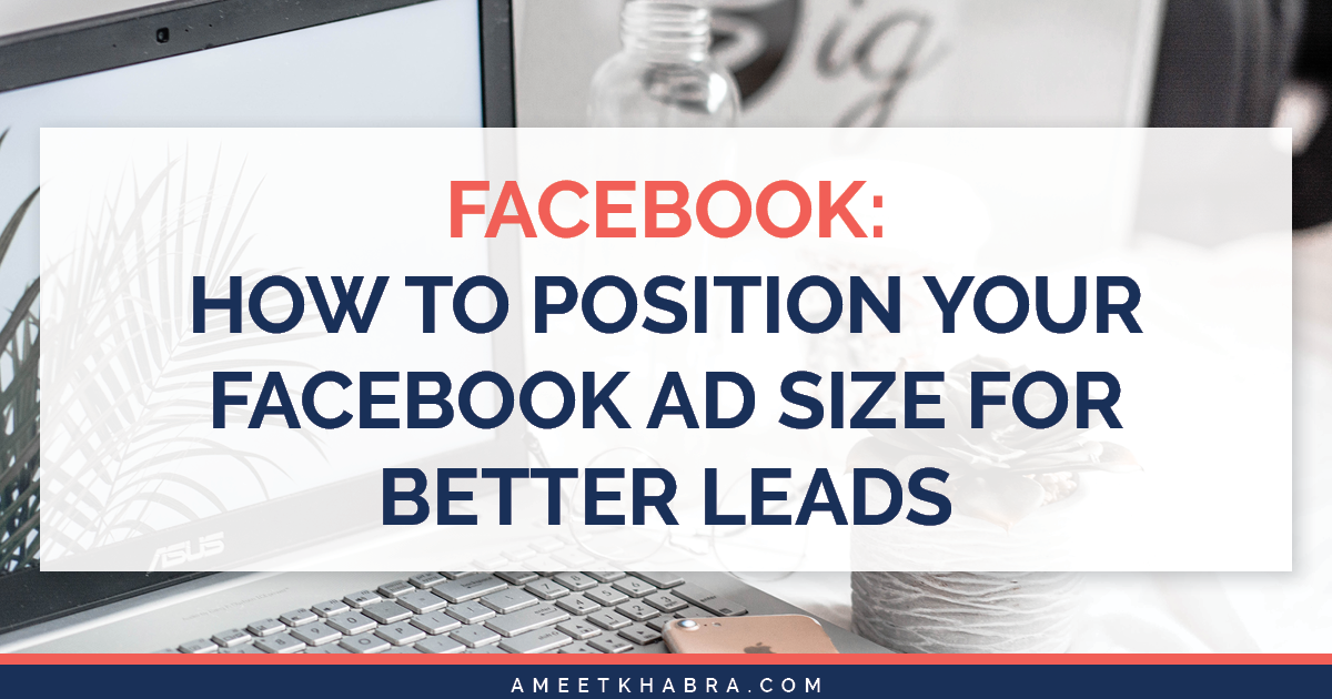 Having trouble with your social media ads? The problem could be with your Facebook ad size. Let's discuss best practices for marketing on Facebook!