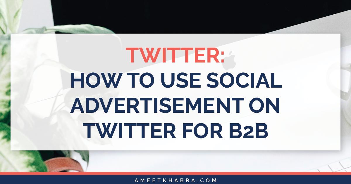 Social Advertisement