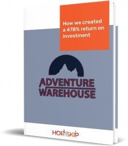 Adventure Warehouse | Google Ads Case Study