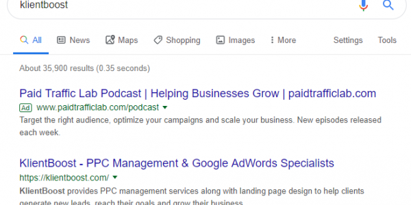 PPC Management - Competitors Bidding on Branded Terms